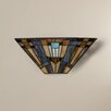 Darby Home Co Wong 2 Light Tiffany Wall Sconce