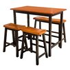 Darby Home Co Louie 4 Piece Dining Set