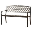 Darby Home Co Ruhamah Steel Park Bench