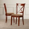 Darby Home Co Maynwaring X-Back Side Chair (Set of 2)