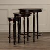 Alcott Hill Wythinghall 3 Piece Round Nesting Table Set