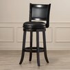 "Burden 29"" Swivel Bar Stool with Cushion"