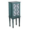 Charlton Home Mazie Jewelry Armoire with Mirror