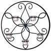 Charlton Home Flower Circle Wall Sconce