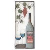 Charlton Home Wine with 2 Glasses Wall Decor