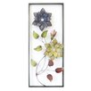 Charlton Home 2 Flowers in Rectangle Wall Decor