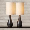 """Varick Gallery Aspinwall 27.5"""" H Table Lamp with Drum Shade (Set of 2)"""
