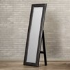 Varick Gallery Brentwood Modern Mirror with Built in Stand
