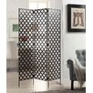 "Brayden Studio 68.13"" x 52.25"" Gordon Quatrefoil 3 Panel Room Divider"