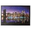 Brayden Studio Brooklyn Bridge Color Framed Photographic Print