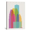 Brayden Studio Detroit by Yoni Alter Graphic Art on Wrapped Canvas
