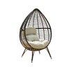 Brayden Studio Cambria Teardrop Chair