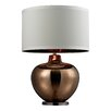"""Wade Logan Oversized Blown Glass LED 30"""" H Table Lamp with Drum Shade"""