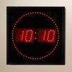 """Wade Logan Dundalk 11"""" LED Digital Square Dot Wall Clock"""
