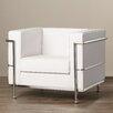Corrigan Studio Coe Leather Guest Chair