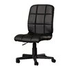 Corrigan Studio Ceil Adjustable Mid-Back Leather Office Chair