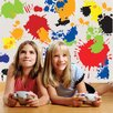 Create-A-Mural Paint Splatter Wall Decal