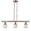 Innovations Lighting Glass Bell 3 Light Island Pendant