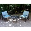 Apollo Providence 3 Piece Dining Set with Cushions