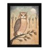 Millwork Engineering Hoot Owl by Donna Atkins Framed Painting Print