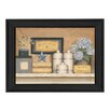 Millwork Engineering Warm Towels by Carrie Knoff Framed Painting Print