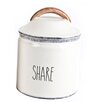 """Mr. Food Test Kitchen Farmhouse """"Share"""" Canister"""