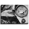 Bashian Home Vintage Truck BW by Lisa Russo Photographic Print on Canvas