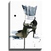 Bashian Home Studded by Kelsey McNatt Graphic Art on Wrapped Canvas