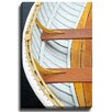 Bashian Home Seattle Wooden Boat by Katherine Gendreau Photographic Print on Wrapped Canvas