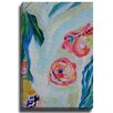 Bashian Home Tropic Tease by Susan Skelley Painting Print on Gallery Wrapped Canvas