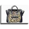 Bashian Home Leopard Bag byLady Gatsby Painting Print on Canvas