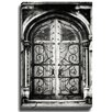 Bashian Home Door Gate BW byLisa Russo Photographic Print on Canvas
