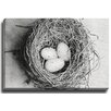 Bashian Home Nest BW by Lisa Russo Photographic Print on Canvas