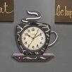 Westclox Clocks Coffee Mug Wall Clock