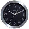 "Westclox Clocks 9"" Metal Frame Wall Clock"
