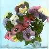 Hadley House Co Pansies by Polly Norman Painting Print on Wrapped Canvas