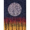Hadley House Co Harvest Moon by Daniel Lager Painting Print on Canvas