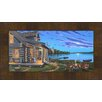 Hadley House Co Lakeside Retreat by Geno Peoples Framed Painting Print