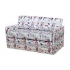 Container Kathy Reversible Foam Print Sleeper Loveseat