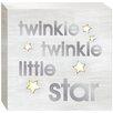 "Prinz ""Twinkle Twinkle"" LED Textual Art Plaque"