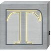 "Prinz ""T"" Monogram LED Textual Art Plaque"