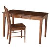 International Concepts Writing Desk with Chair