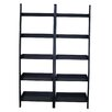 """International Concepts 75.5"""" Leaning Bookcase"""