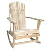 International Concepts Adirondack Porch Rocking Chair