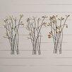 August Grove Mireia Twig Wall Décor (Set of 3)
