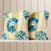 Beachcrest Home Decorative Indoor Outdoor Throw Pillow (Set of 2)