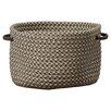Loon Peak Burlington Outdoor Tweed Storage Basket