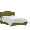 House of Hampton Inset Nail Button Upholstered Panel Bed