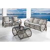 Ceets Infinity 4 Piece Lounge Seating Group with Cushions