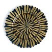 """Linen Tablecloth Halley 13"""" Charger Plate (Set of 40)"""